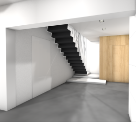 Stalowe schody
